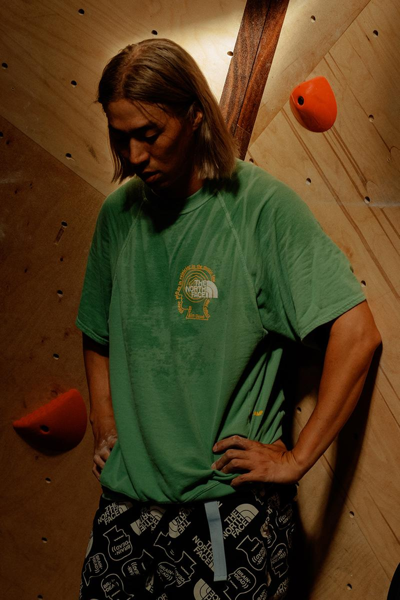 the north face brain dead fw20 fall winter 2020 release information climbing clothing global climbing day