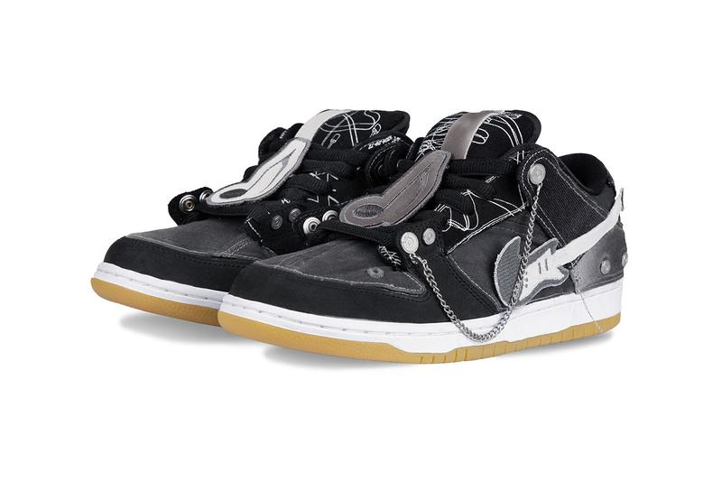 Yixi Chen of C2H4's Custom Nike SB Dunk Low Shoes sneakers collaboration design punk rock music inspiration remake