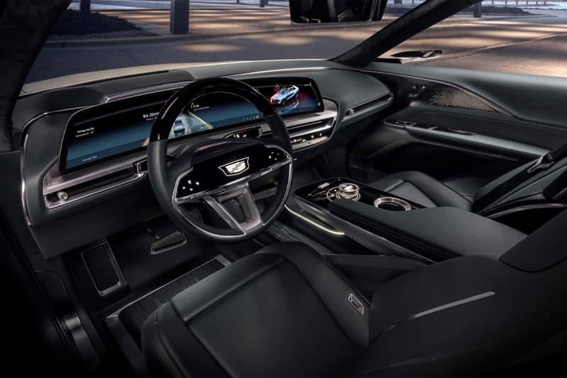 cadillac general motors gm first full ev electric vehicle lyriq show car
