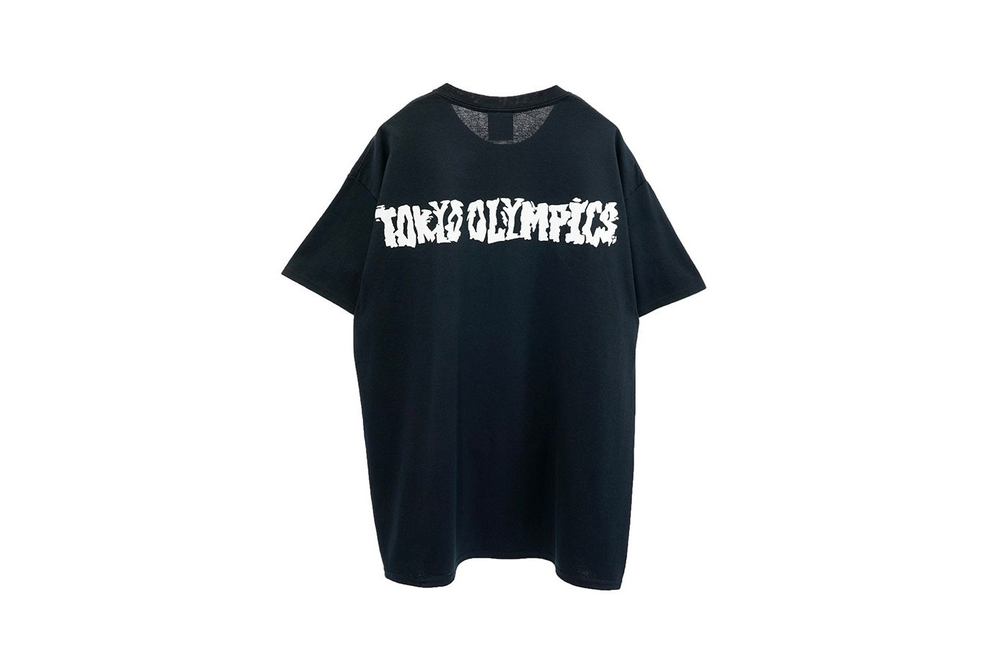 Cali Thornhill DeWitt solo exhibition Tokyo Olympics 2020 capsule menswear streetwear graphic tees t shirts long sleeves gr8 saint Michael