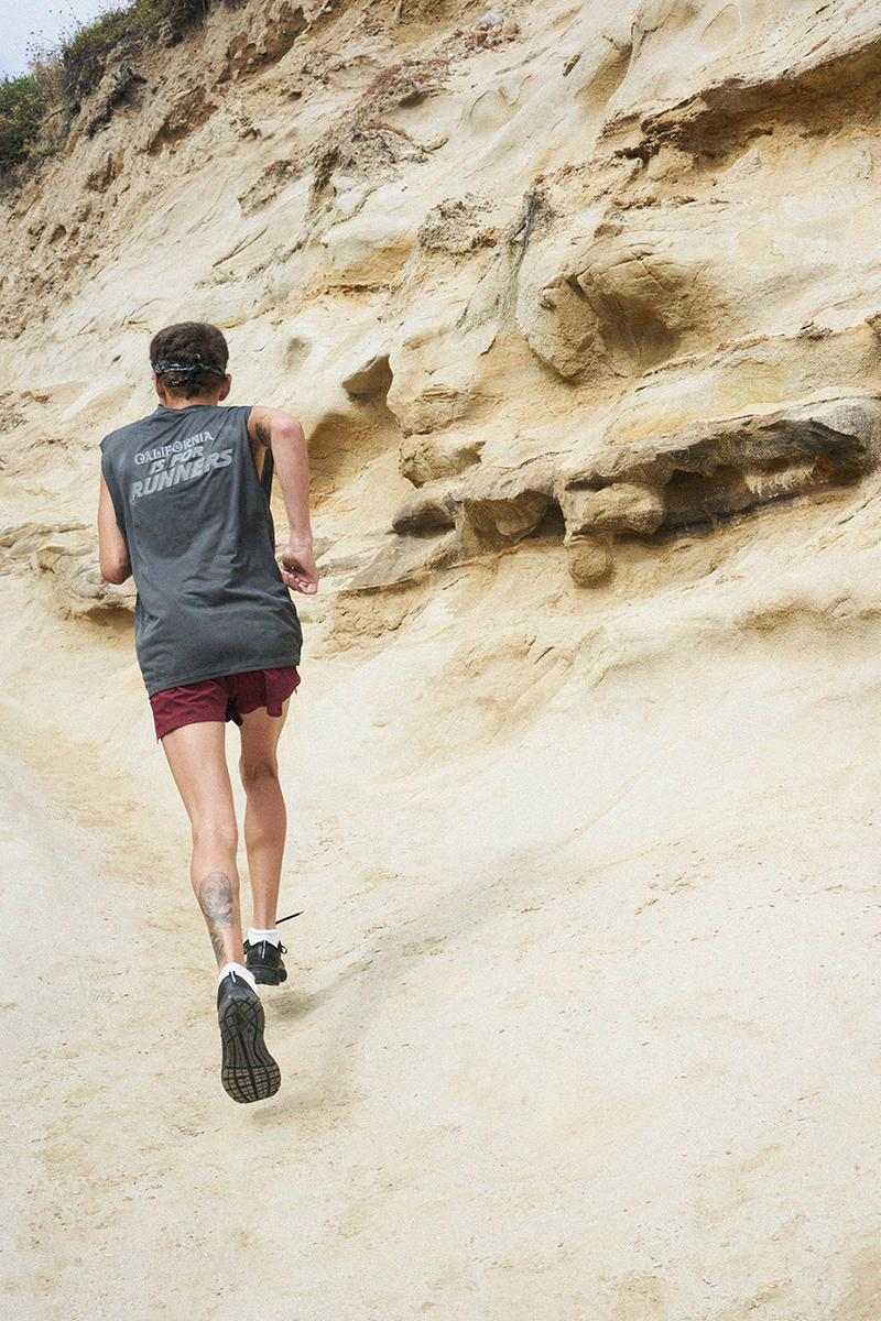 satisfy running Paris French running brand California is for runners premium performance apparel release info