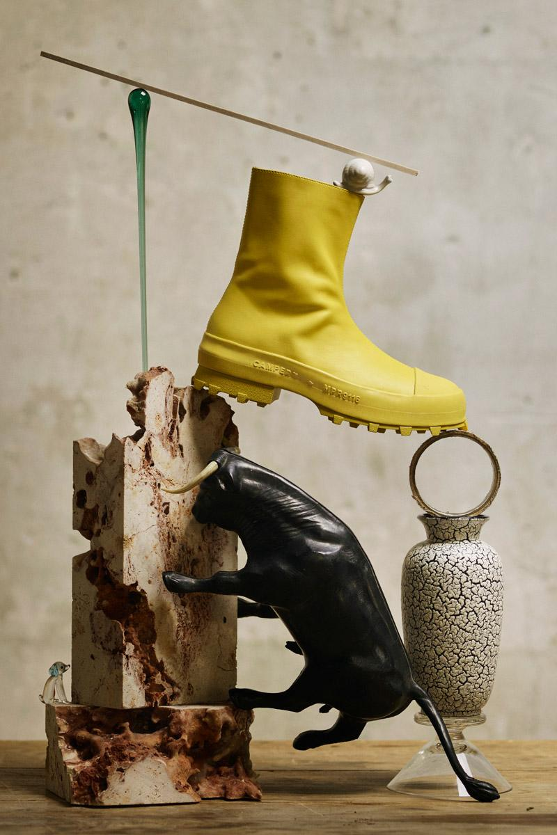 CamperLab Fall/Winter 2020 Footwear Collection achilles ion gabriel simon ground juanita walden traktori boot loafer sandal sneaker high top heel still life