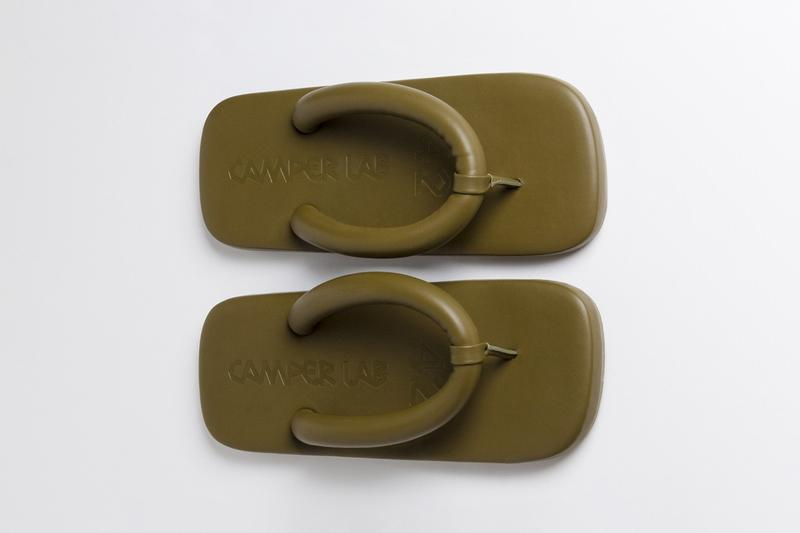 CamperLab FW20 Hastalavista geta Tabi Foam Sandal memory cushion fall winter 2020 shoe camper release date info buy