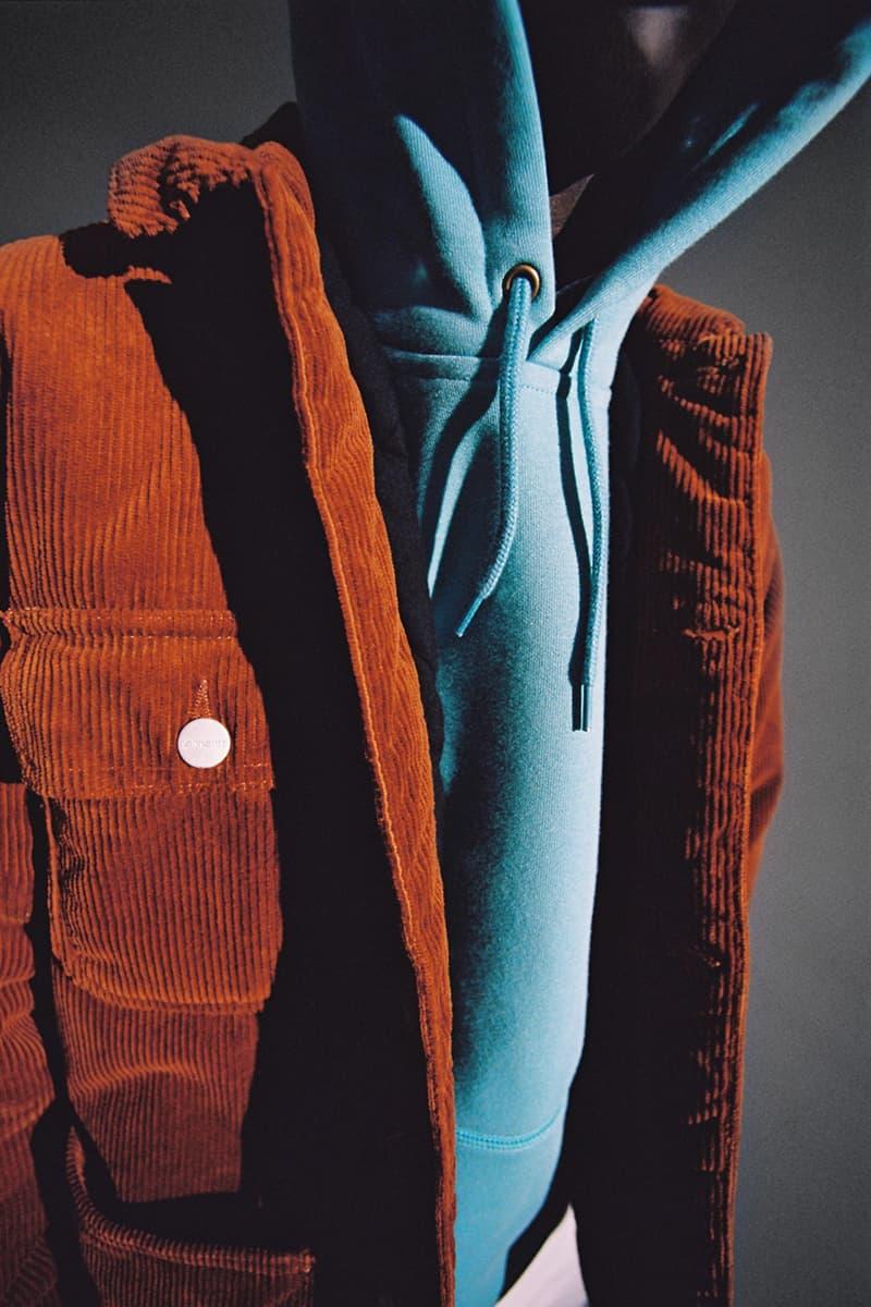 carhartt wip work in progress fall winter 2020 collection lookbook gore tex details