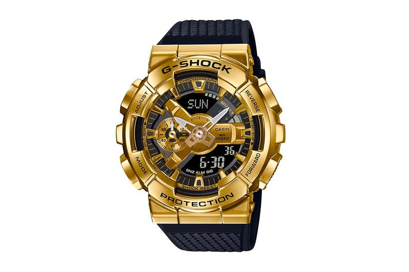 Casio G-Shock Unveils Metal-Covered GM-110 Collection  watches DW Casio Shock Sports watches accessories