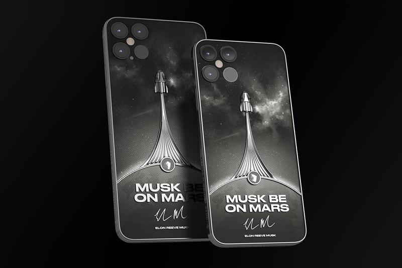 Caviar MUSK BE ON MARS iPhone 12 Pro Nike Air Force 1 Release