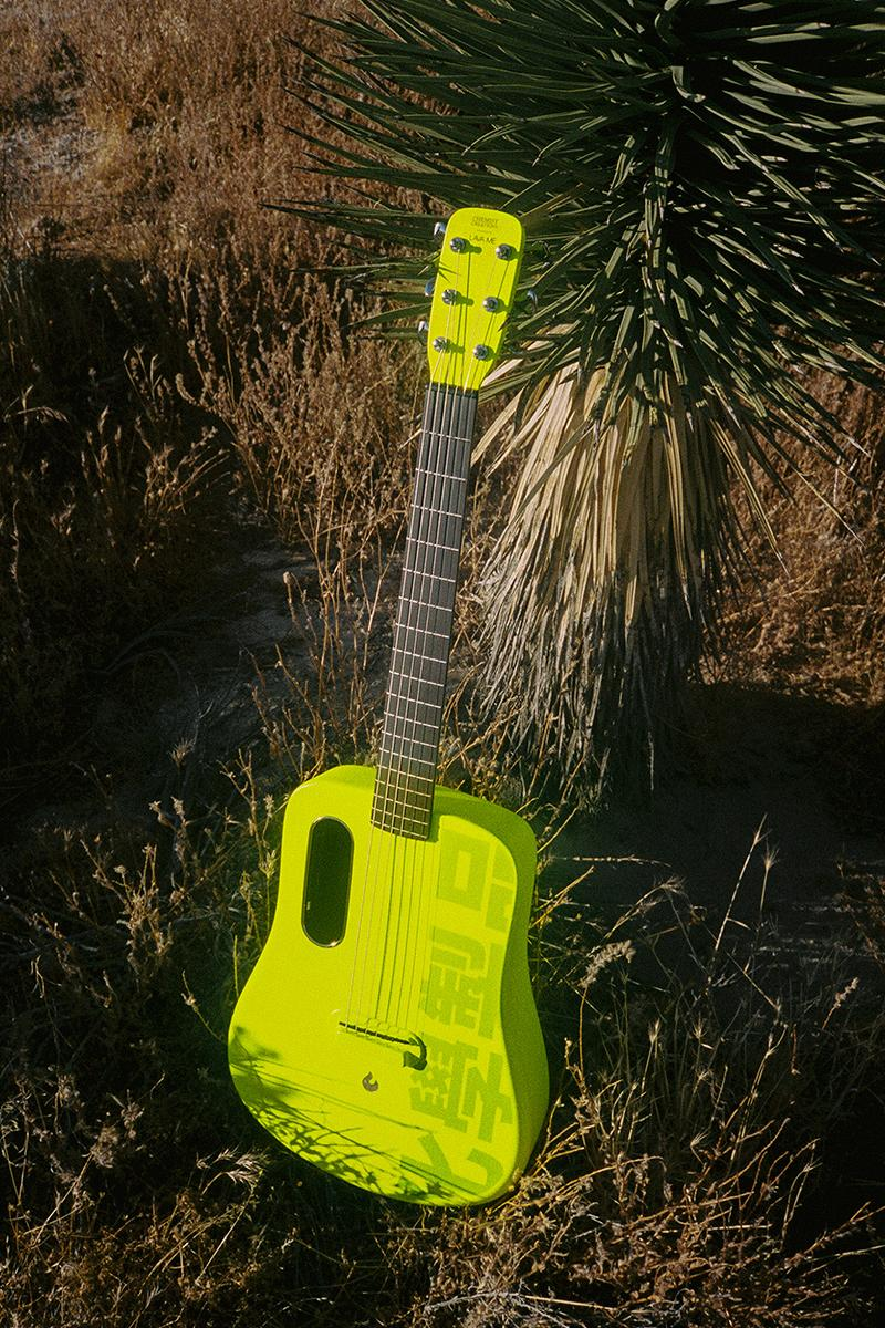 Chemist Creations LAVA MUSIC LAVA ME 2 Guitar Release Coral White Green Chaud Buy Price Info C2H4