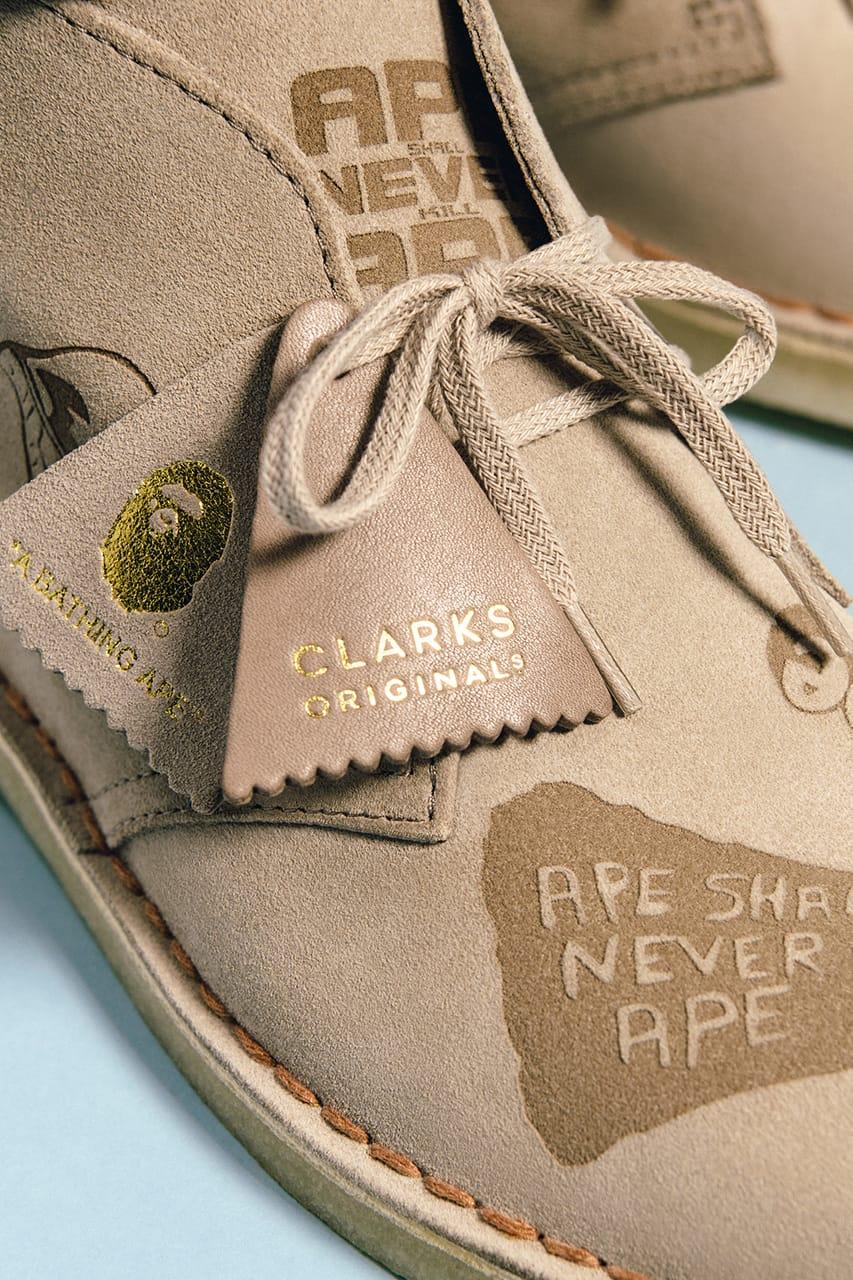 BAPE x Clarks Originals FW20 Collection
