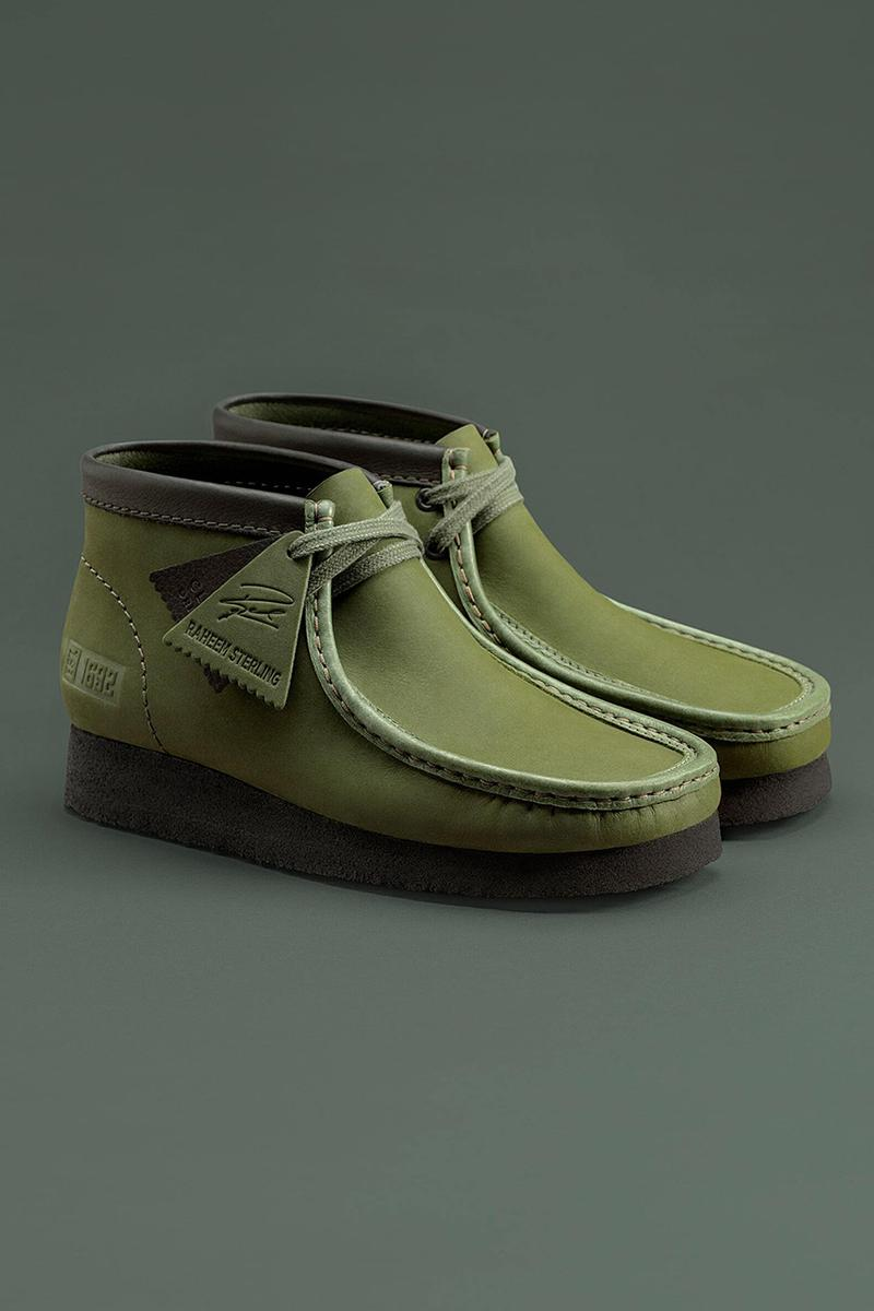 Raheem Sterling clarks wallabee release Jamaica inspired where to buy how to cop khaki black release date