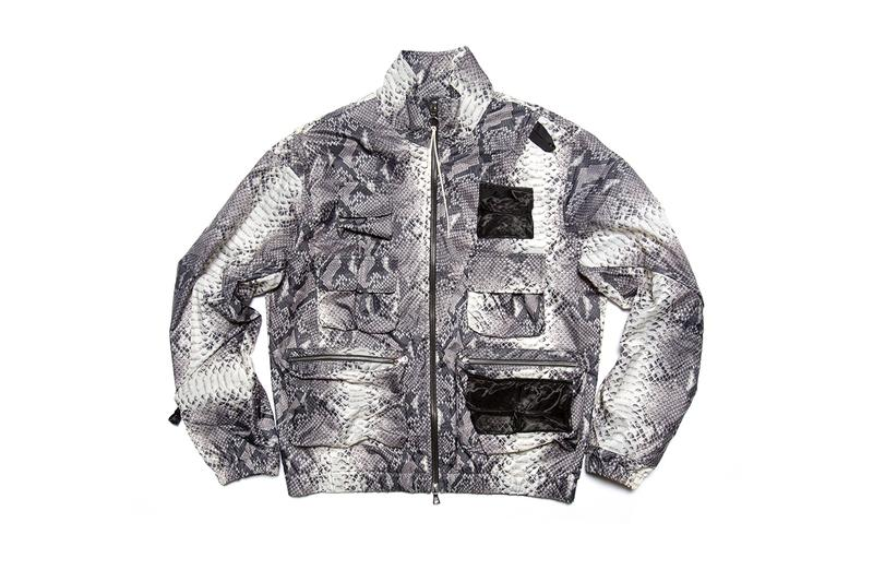 clothsurgeon Supreme x The North Face Tracksuit 2018 collaboration snakeskin
