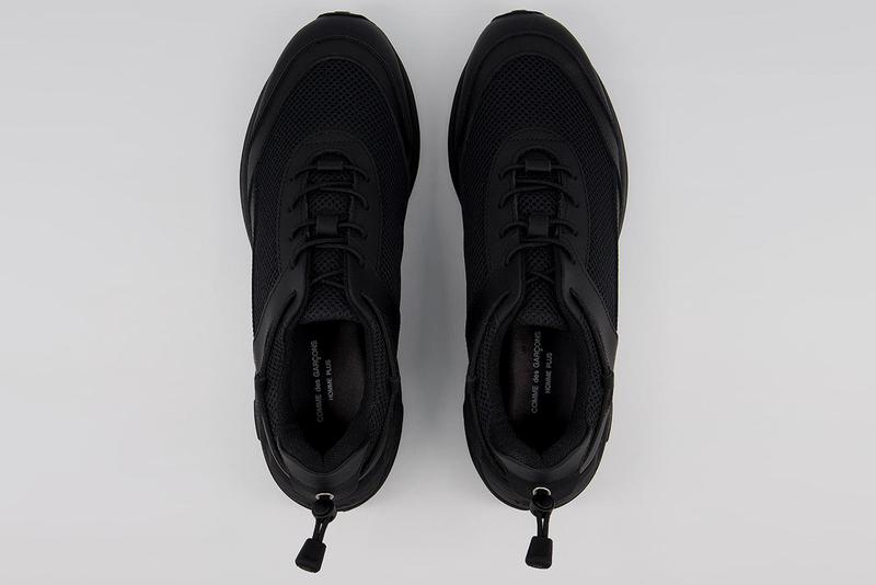 comme des garcons homme plus cross trainer shoes sneakers white black vibram rollingait system official release date info photos price store list buying guide