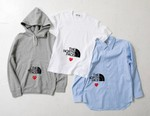 """COMME des GARÇONS PLAY and The North Face Drop """"PLAY TOGETHER"""" Capsule"""