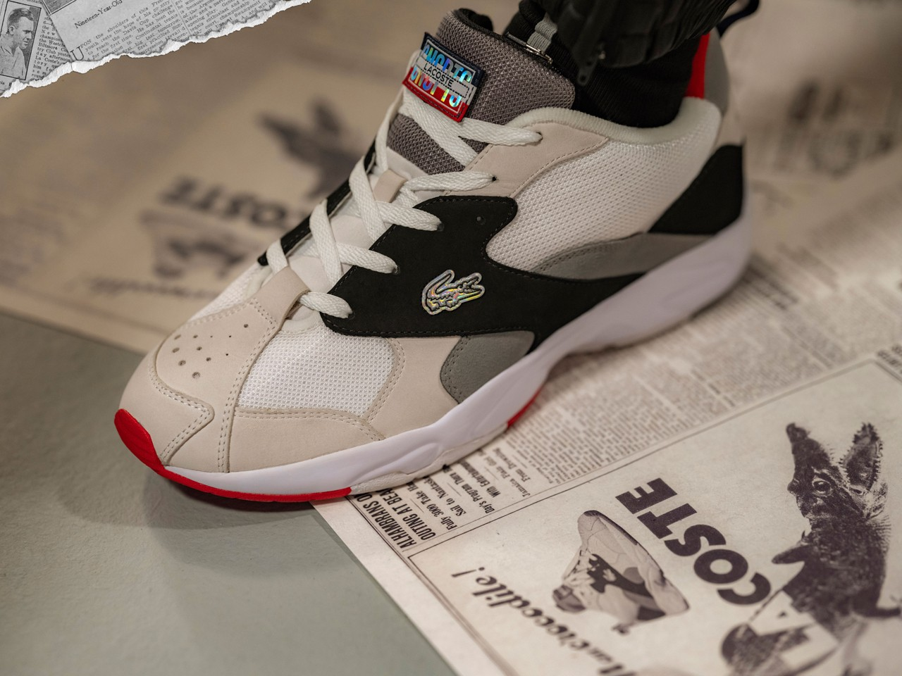 lacoste concepts storm 96 sneaker release info drop date Boston when available limited edition where to cop clothing apparel august 14 2020