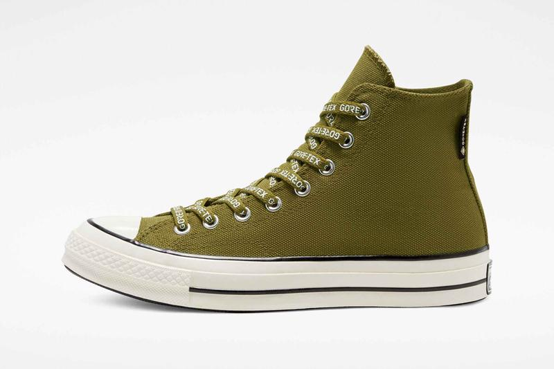 converse chuck taylor all star 70 hi high gore tex dark moss amber sepia black egret 168857C 168858C 168859C official release date info photos price store list buying guide