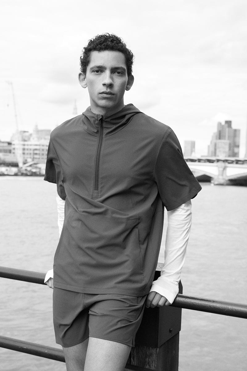 cos active wear gym wear collection sustainable release information menswear gym clothes running clothes