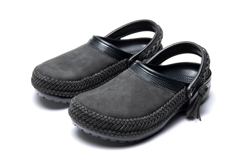 Journal Standard Crocs Leather Clog footwear streetwear menswear spring summer 2020 ss20 collection