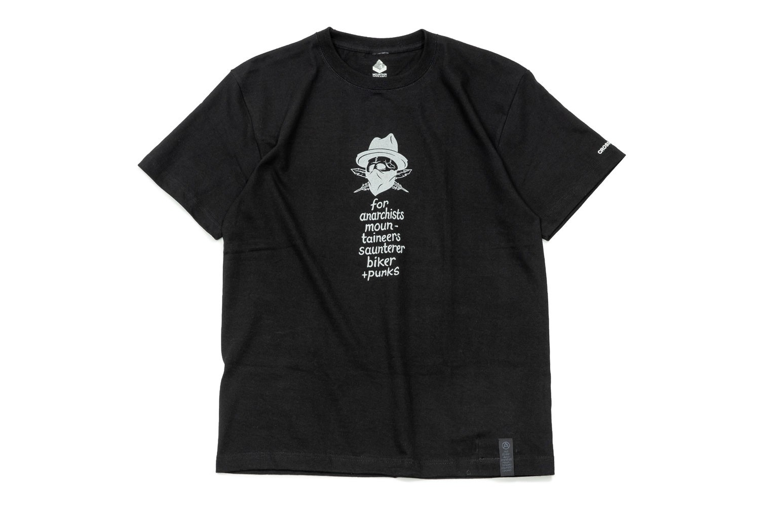CROSSOVER x Mountain Research Collab Capsule THE SOUTHERN ANARCHO tshirt tee hat bandana skull