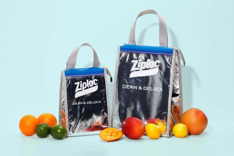 Dean & DeLuca x BEAMS x Ziploc Cooler Bag Collaboration collection freezer shopper tote groceries japan release date info buy couture