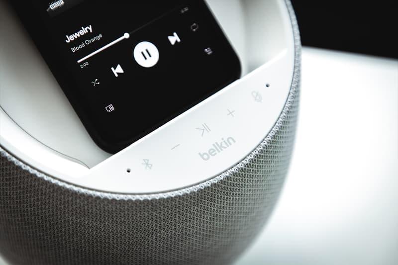 A Closer Look at the Devialet Powered Belkin SOUNDFORM ELITE Smart Speaker France French Paris Hi-fi Acoustics speakers wireless charging