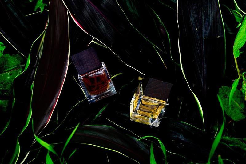 di ser niche perfume fragrance scent eau de parfum extrait japan hokkaido sapporo kyara tsuki keman oud agarwood rose natural botanics