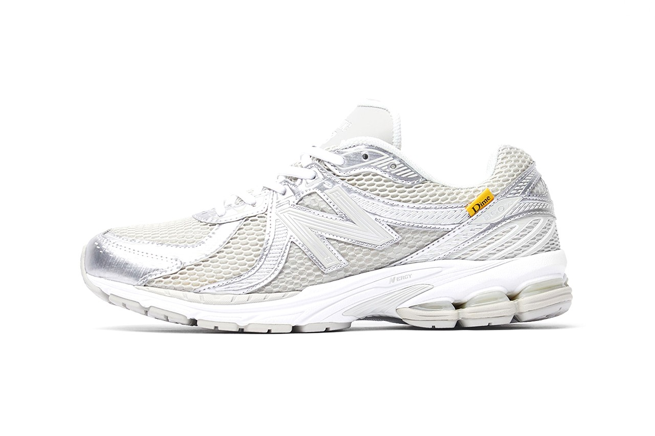 dime new balance 860 release information buy cop purchase black blue yellow white grey silver end clothing