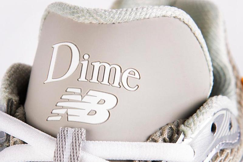 DIME New Balance Collaboration Teaser Release Info Buy Price Silver