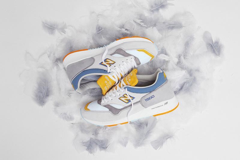 end clothing new balance 1500 grey heron release information collaboration sneaker details
