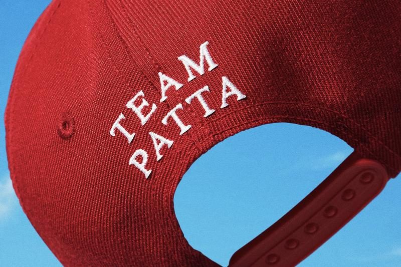"END. x Patta 15th Anniversary Capsule Collection Collaboration Release Information T-Shirts Hoodies Sports Cap ""BEGIN."" ""TEAM PATTA"" FW20"