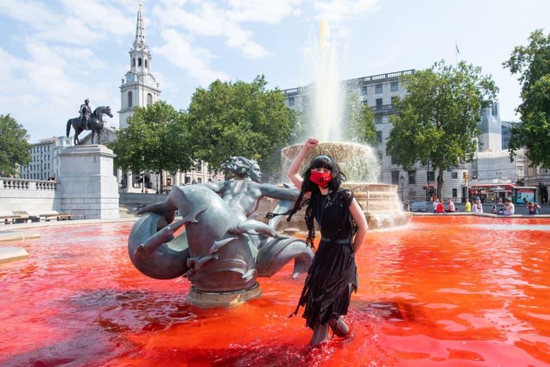 extinction rebellion trafalgar square london protests coronavirus pandemic brazil deaths indigenous people