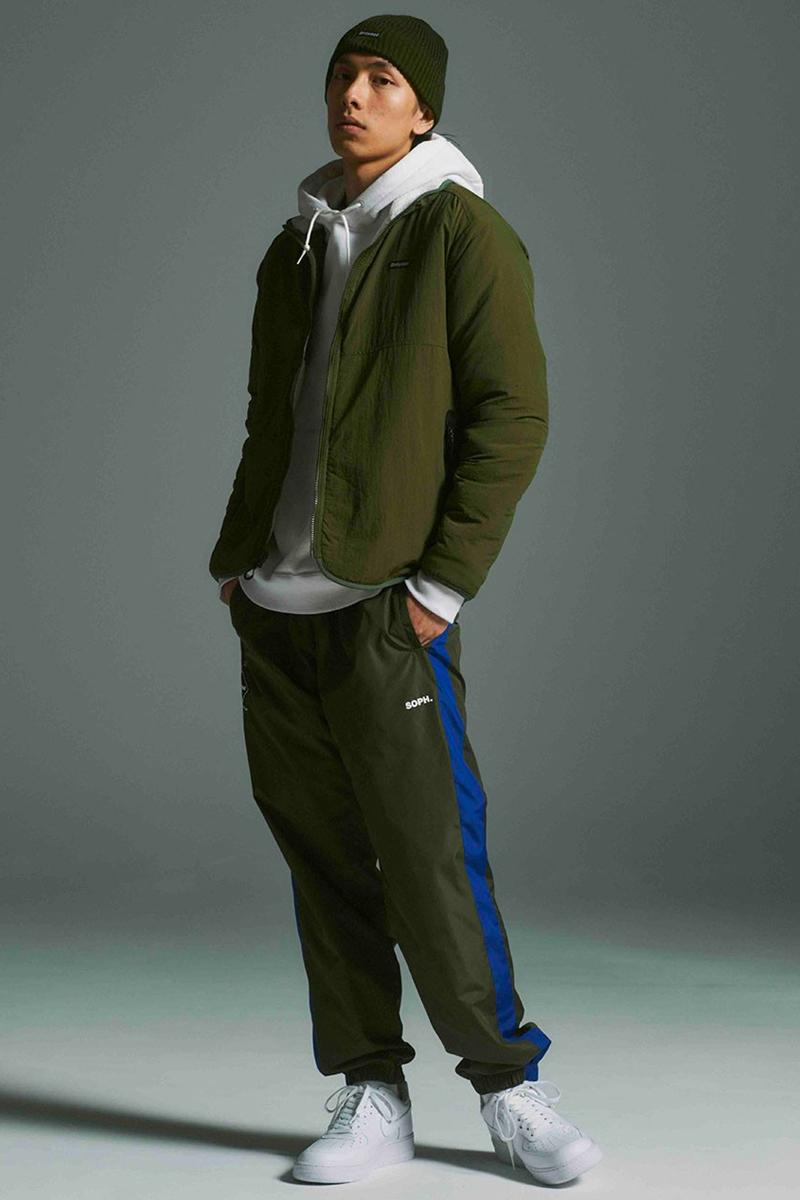 F.C. Real Bristol Fall Winter 2020 Lookbook menswear streetwear fw20 jackets t shirts shirts pants trousers zip ups collection soph