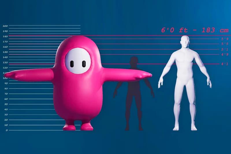 Fall Guys Characters Six Feet Tall Info Mediatonic Devolver Digital size