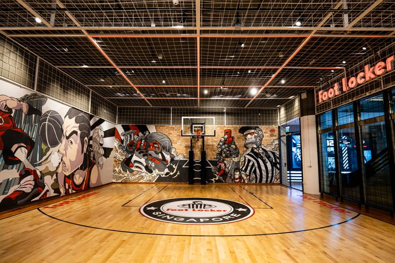 foot locker new store opening singapore youth sneaker culture basketball air max tns