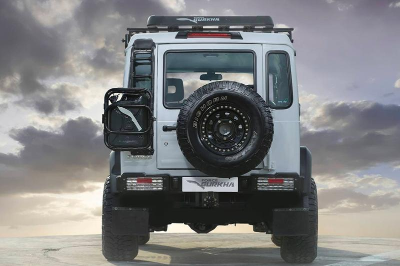 "Force Motors ""Gurkha"" 4x4 Is India's G-Wagon for One-Tenth the Price India Mercedes-Benz 4x4 off-roading suvs"