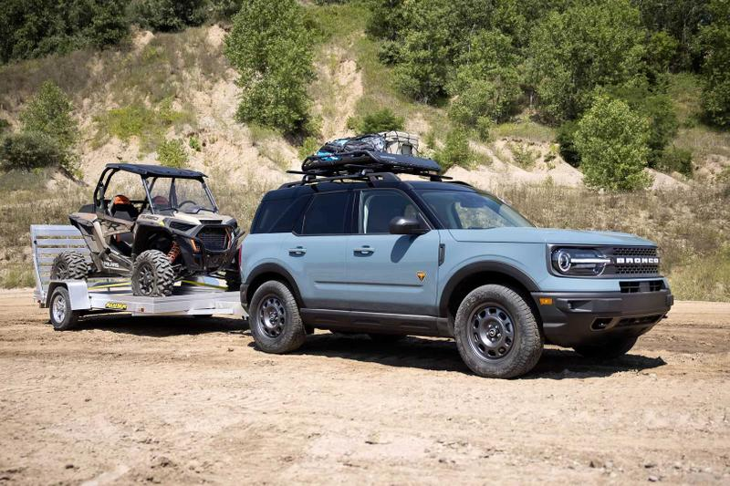 Ford Celebrates 55 Years of Bronco With Five Adventure Concepts fishing 4x4 off-roading jeeps cars suvs American Outdoors