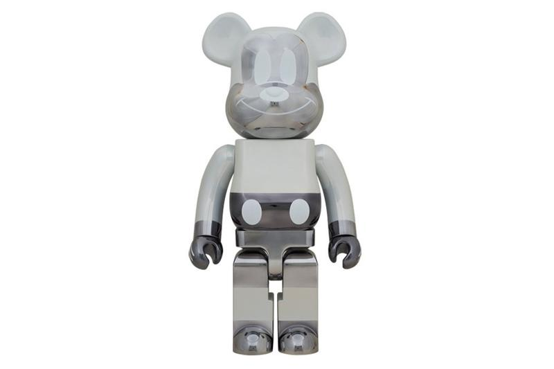 fragment design x Medicom Toy Hello Kitty, Mickey Mouse bearbricks figure collaboration release date toy collectible disney