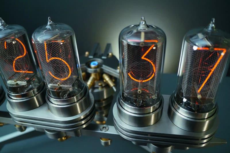 MB&F Presents Its Final Frank Buchwald-Designed Nixie Machine III Clock german design M.A.D.Gallery