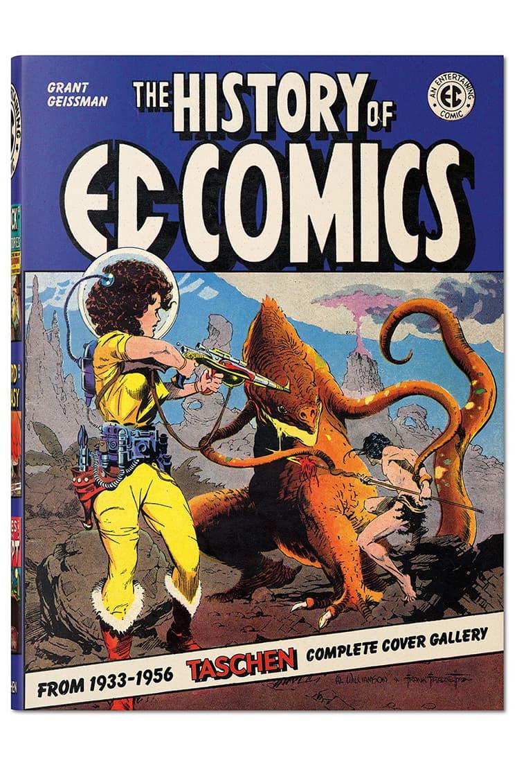 'The History Of EC Comics' TASCHEN Book Reveal dc marvel spiderman wonder woman superman batman comic books graphic novels