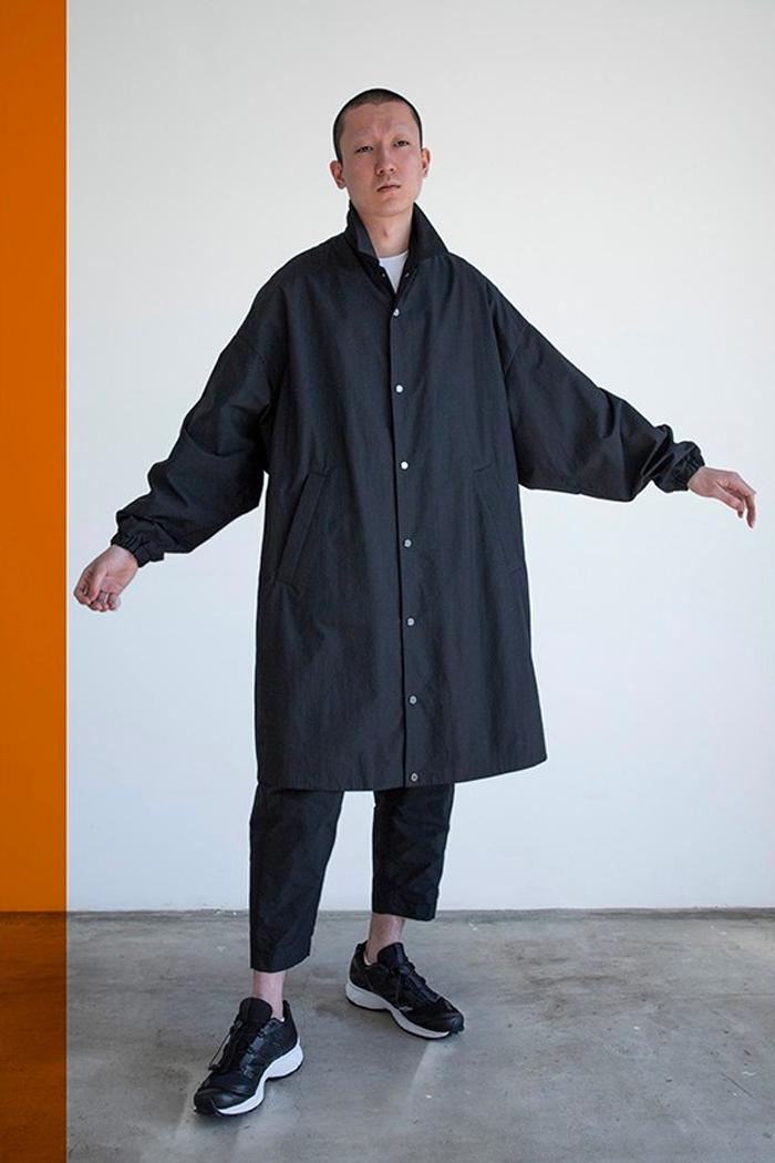 Fumito Ganryu Fall Winter 2020 Lookbook collection fw20 menswear streetwear jackets coats pants trousers t shirts logos long sleeves