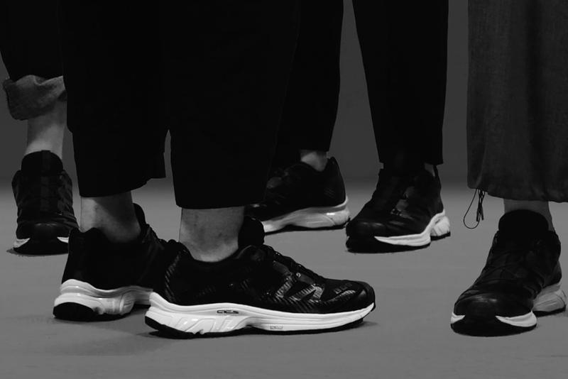 Fumito Ganryu x Salomon Advanced XT-4 Collaboration Sneaker Release Information Trail Tech First Look Footwear Drop Date Hiking Futuristic Black White Gray