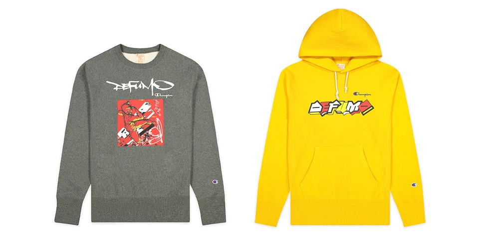 Graffiti Legends Delta, Futura and MODE2 Team up on Champion Collab