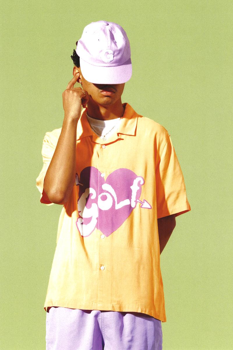 GOLF WANG Fall 2020 Collection lookbook Release lookbook pastels tyler, the creator short sleeves t-shirts vests knitwear sweaters shorts pants