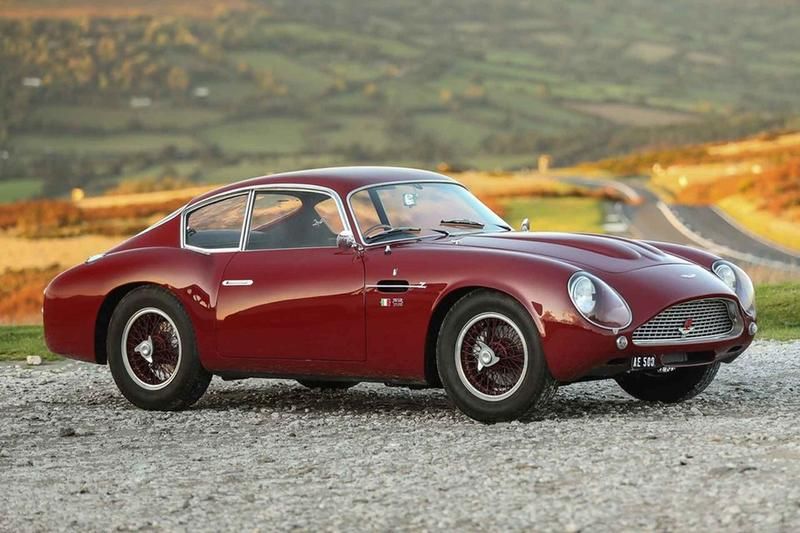 1961 Aston Martin Db4 Gt Zagato Auction Info Hypebeast