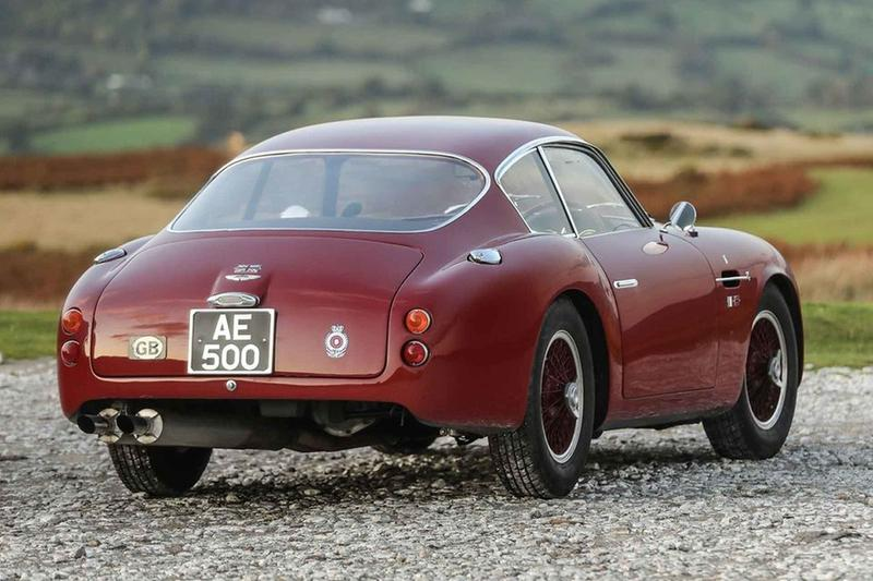 gooding and company aston martin 1961 db4 gt zagato coupe auction vintage cars retro classic