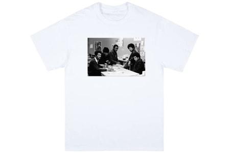 Rare Malcolm X and Black Panther Photographs Grace Public School's Charitable T-Shirt Capsule