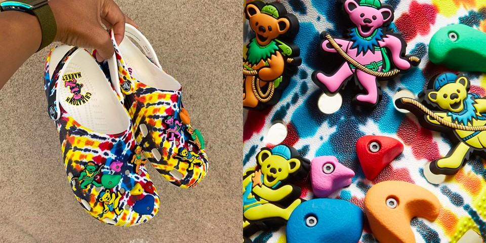Grateful Dead and Chinatown Market Link up for Psychedelic Crocs