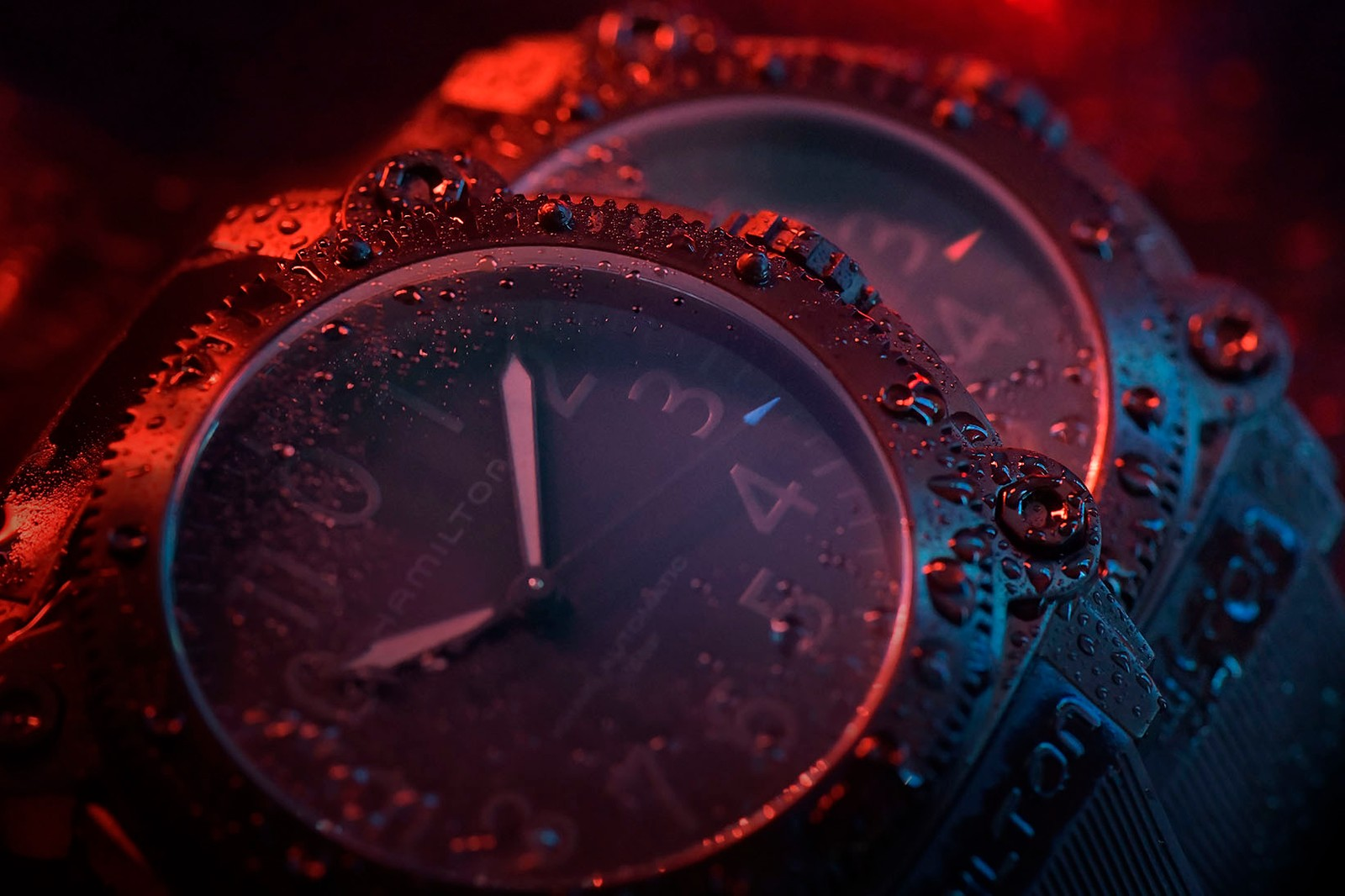 Hamilton BeLOWZERO Special Edition TENET Wristwatch Christopher Nolan Robert Pattison