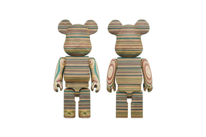 haroshi karimoku medicom toy bearbrick figure artwork