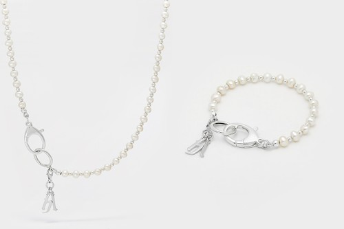 Hatton Labs Presents Sterling Silver-Equipped Pearl Necklaces and Bracelets for FW20