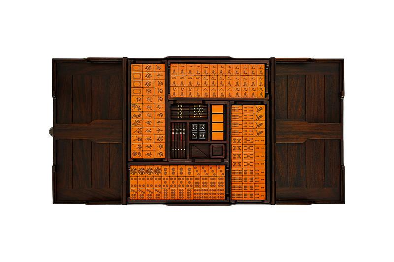Hermès Releases $42,000 USD Helios Mahjong Set Singapore games home Chinese