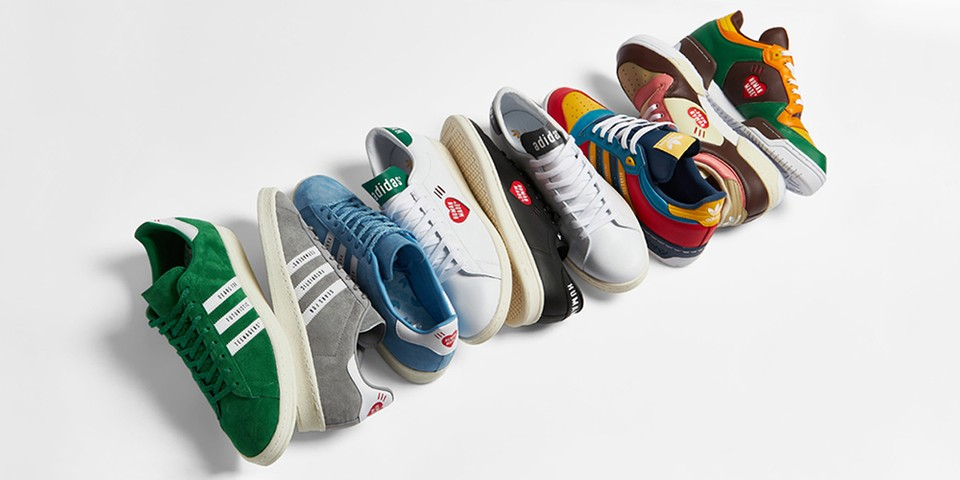 HUMAN MADE and adidas Originals Reveal Full Collaboration